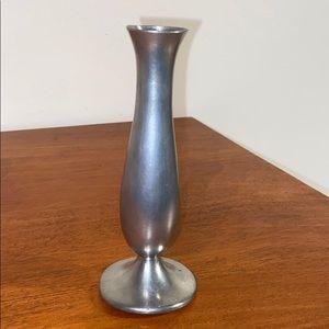 Vtg Daalderop Holland Pewter Bud Vase